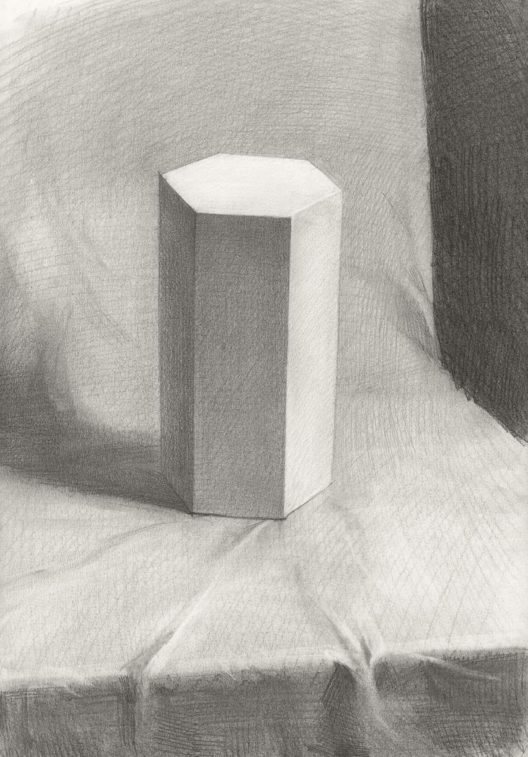 幾何形體之六棱柱
