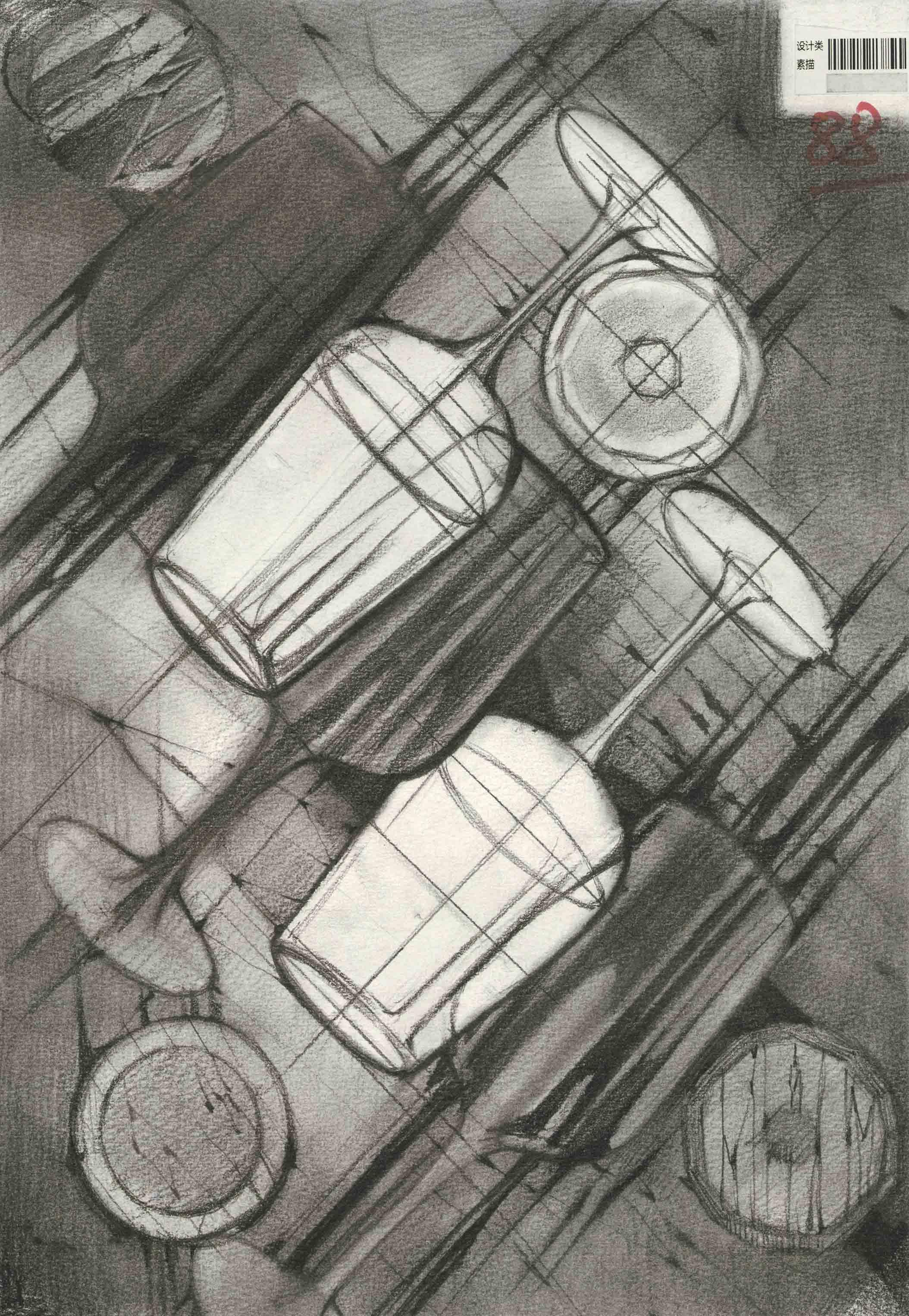 《解密高分卷-川美设计篇》之设计素描图片
